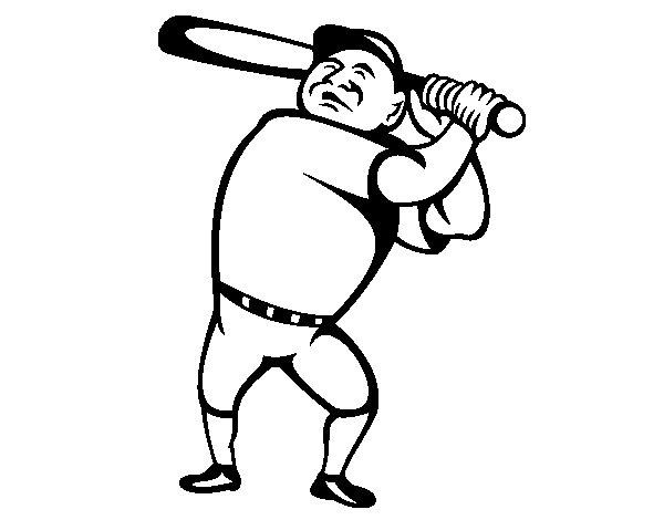 Dibuix de Bateador designat per Pintar on-line