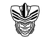 Dibuix de Màscara d'home mosca per pintar