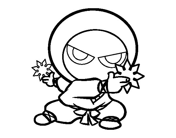 ninja cat coloring pages - photo#22
