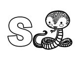 Dibujo de S de Serp
