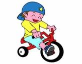 Nen en tricicle