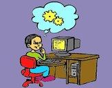 Informàtic pensant