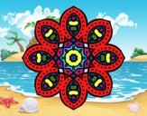 Mandala d'inspiració àrab