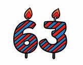 63 anys