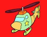 Helicòpter amb una estrella