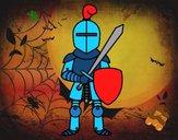 Cavaller amb espasa i escut