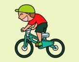 Nen ciclista