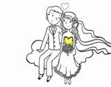 Recent casats a un núvol