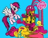 Rainbow Dash al seu palau