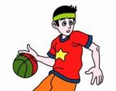 Jugador de bàsquet júnior